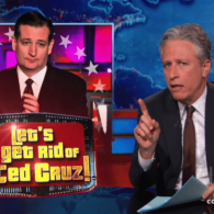 Jon Stewart Tears Into Ted Cruz For Accusing Gay Rights Supporters of Waging 'Jihad' Against Christians: VIDEO