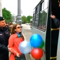Russian Police Decide Balloons Are 'Gay Propaganda,' Arrest 17 LGBT Activists In Moscow