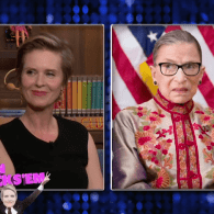 Cynthia Nixon Reveals Which Sex and the City Gal Hillary Clinton, Ruth Bader Ginsburg & Michele Bachmann Are: VIDEO