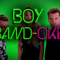 Lance Bass and James Corden Relive the Boy Band Days in Epic Ad Lib Sing-Off: VIDEO