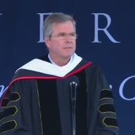 Jeb Bush Again Blows Anti-LGBT 'Religious Freedom' Dog Whistle in Liberty University Commencement Speech: VIDEO