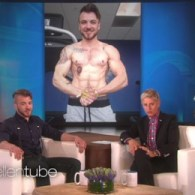 Ellen Meets 'Men's Health' Cover Finalist Aydian Dowling: WATCH