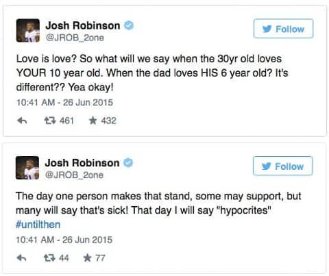 J Robinson