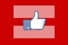 facebook equals sign