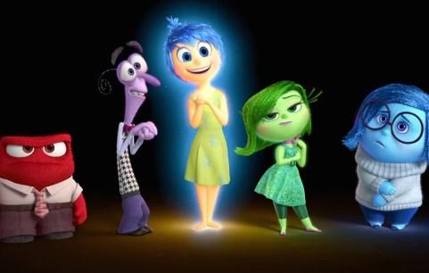 Pixar's very own rainbow flag of sorts!