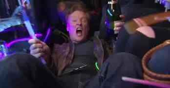 Conan sees Magic Mike