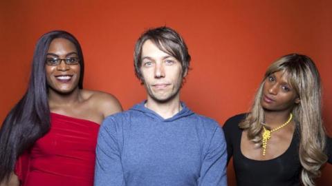 Mya Taylor, Sean Baker and Kitana Kiki Rodriguez  (Photo by Rebecca Cabage/Invision/AP)