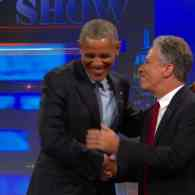 President Obama Doesn't Want Jon Stewart To Leave: VIDEO