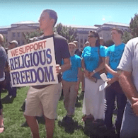WATCH: Focus on the Family Highlights Anti-gay Rally for Lawless Kentucky County Clerks