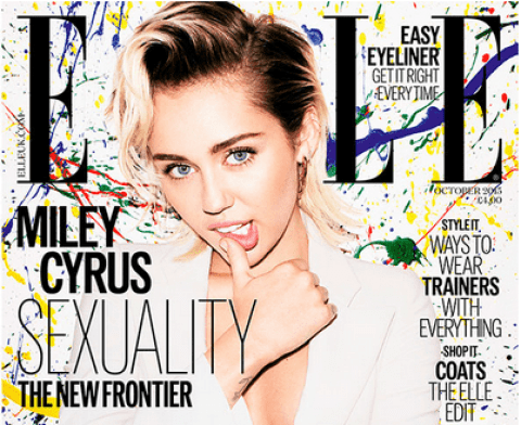 miley cyrus, pansexual