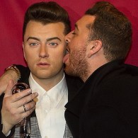 Sam Smith Gets Cheeky With His Madame Tussauds Wax Doppelgänger: PHOTOS