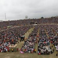 Kim Davis' Lawyer Lied About A 100,000 Person Prayer Rally Held For Her in Peru – VIDEO