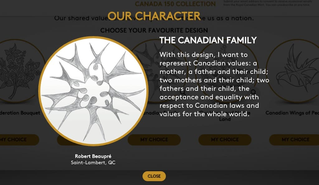 Canada's new coin design