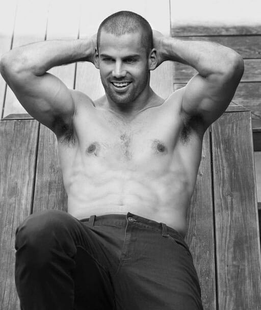 Eric Decker shirtless