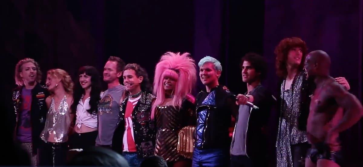 Hedwig closing night curtain call