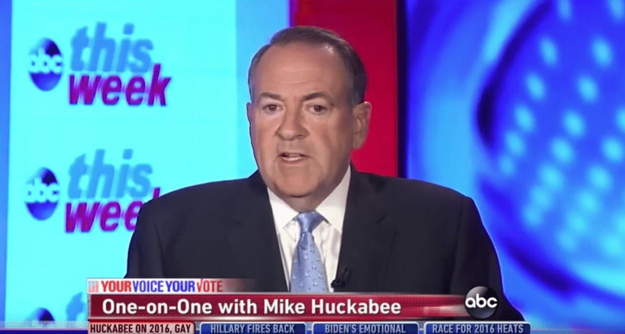 mike huckabee, huckabee