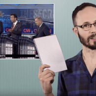 Matt Baume on How Candidates Handled the Kim Davis Question At the GOP Debate: WATCH