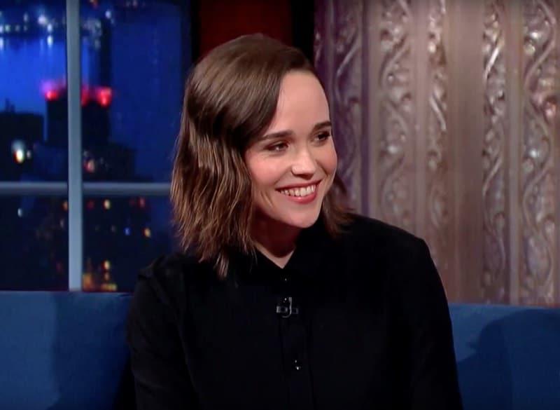 Ellen Page straight