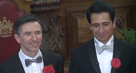 Peter McGraith and David Cabrera uk same-sex couples