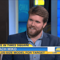 WATCH: Sexy Plus Size Model Zach Miko Talks Accepting His XXL Body