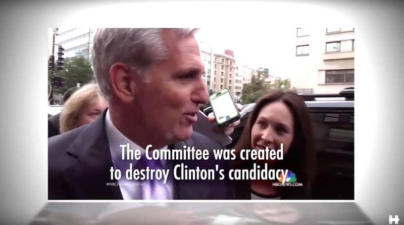 Hillary Clinton ad Kevin McCarthy