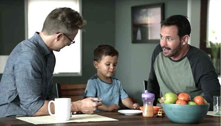 from Giancarlo commercial gay ikea
