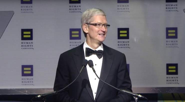 Tim Cook Human Rights Campaign HRC