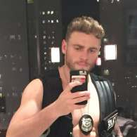Gus Kenworthy is a Shirtless Sexy Cop in Latest Halloween Costume: LOOK
