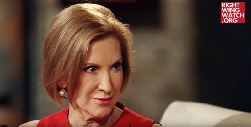 Carly Fiorina Glenn Beck