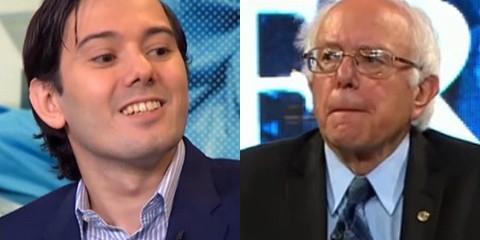 Bernie Sanders Martin Shkreli