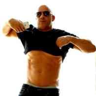 Vin Diesel abs