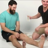 Hot Aussies Pluck Each Other's Nose Hair and Wax Each Other's Legs: WATCH