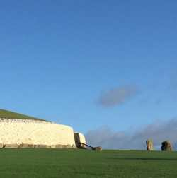 Newgrange passage tomb, Ireland, on Towleroad and in ManAboutWorld gay travel magazine