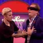 Justin Bieber and Alan Carr