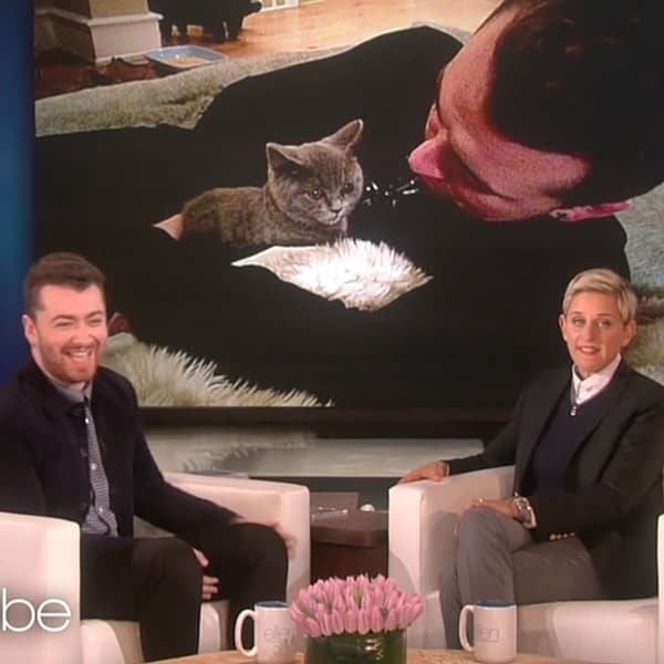 Sam Smith Ellen DeGeneres