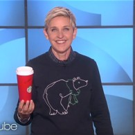 Ellen Has a Solution for the Starbucks Holiday Cup Controversy: WATCH