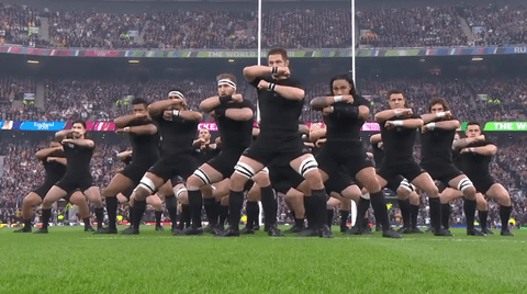 c387bb53510 haka. At the Rugby World Cup final in London yesterday, the New Zealand All  Blacks performed two hakas ...