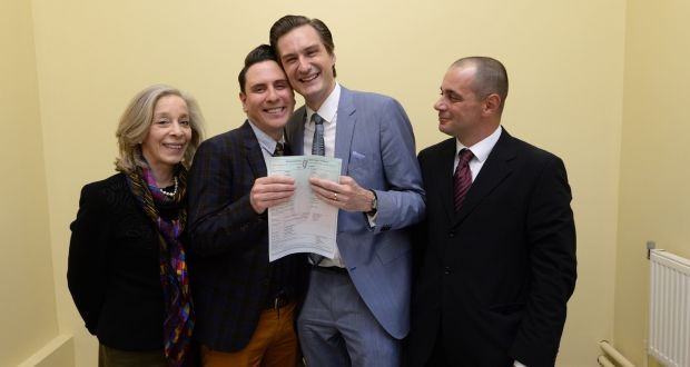 first gay couple marries in ireland