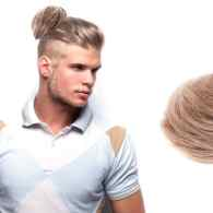 The Clip-On Man Bun is Here to Terrorize Men's Fashion