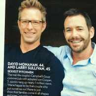 Gay Campbell's Soup Dads Named 'Sexiest Pitchmen' by 'People' Magazine