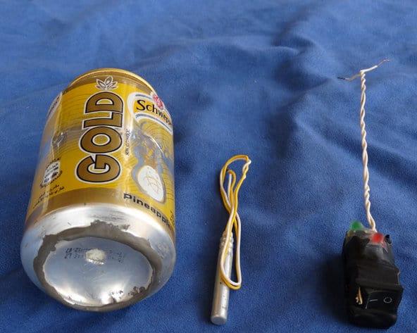 Soda can bomb