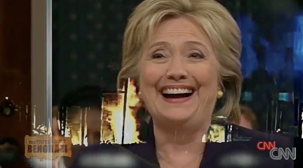 Donald Trump Posts Video of Hillary Clinton Laughing