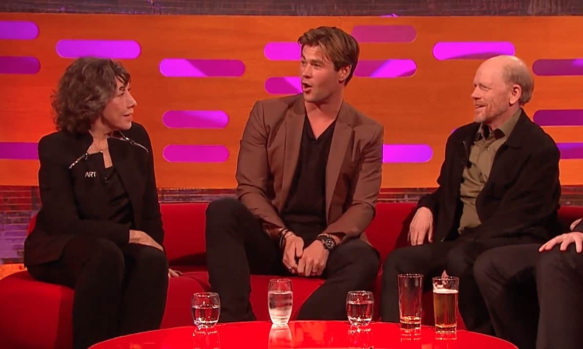 Chris Hemsworth talks about