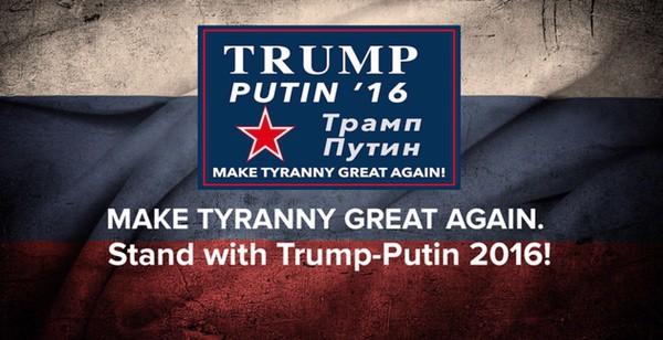 Donald Trump announces Vladimir Putin