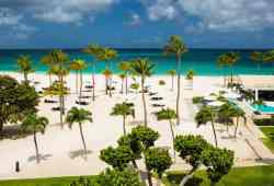 Bucuti & Tara Beach Resorts, Aruba; warm-weather getaways in Towleroad and ManAboutWorld gay travel magazine