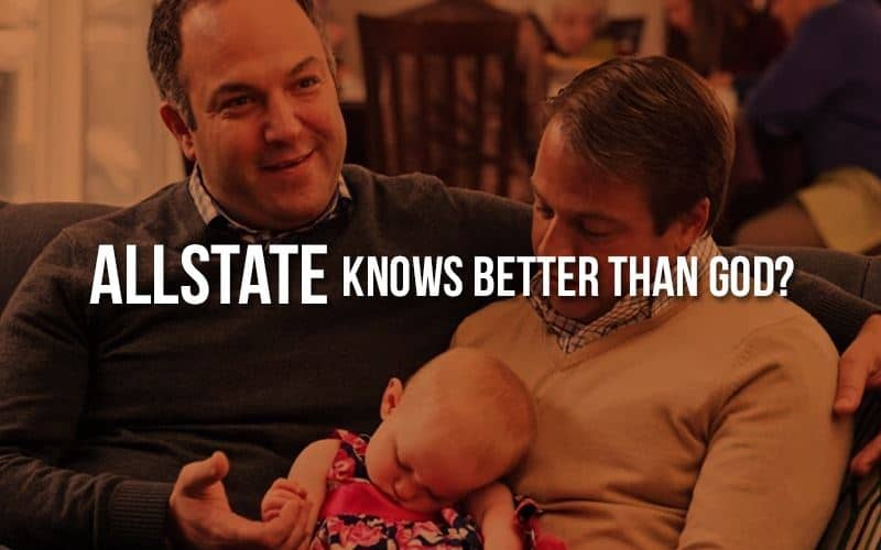 American Family Association targets Allstate