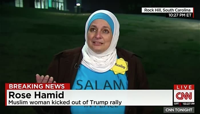Rose Hamid muslim woman