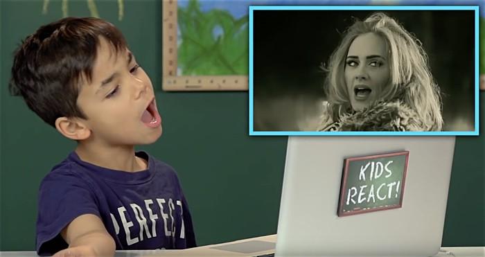 Kids React to Adele