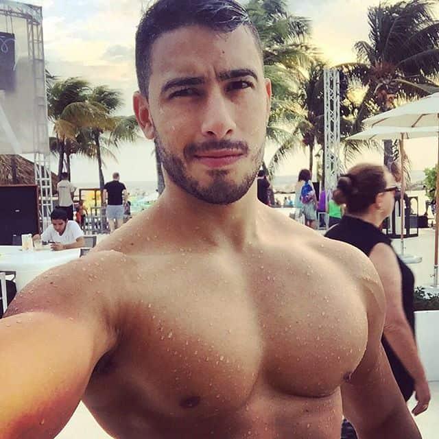 from Uriah hot muscular gay