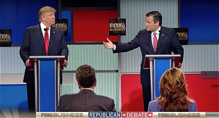 Donald Trump Ted Cruz new york values